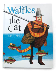 Waffles the Cat  - Signed Hardback Children's Picture Book