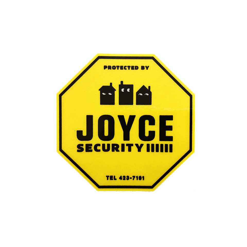 Security Window Cling