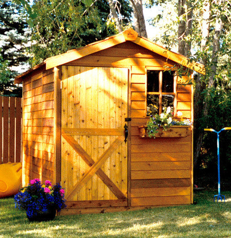 small gardening storage shed