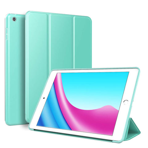 Smart Cover Case Gel for iPad 2017/2018 - Mint