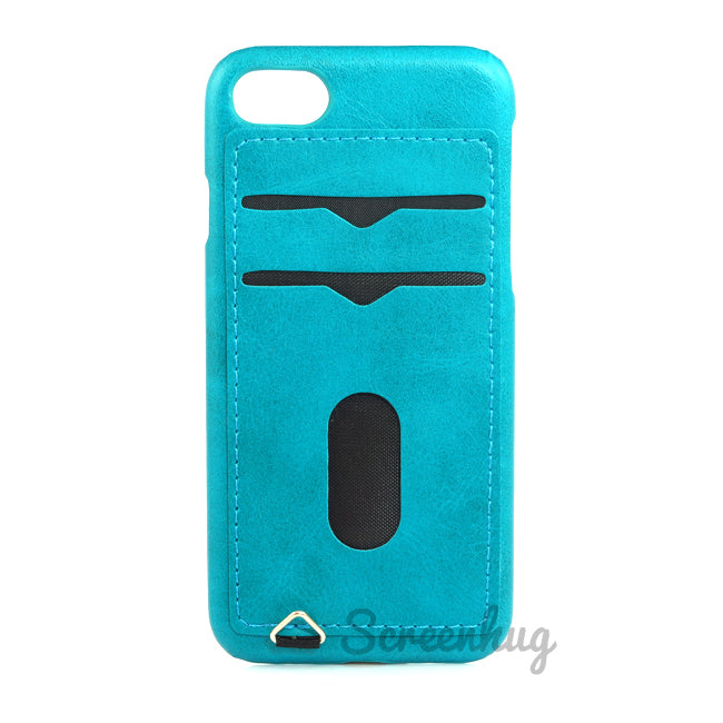 Back card case for iPhone 7/8 - Blue - screenhug