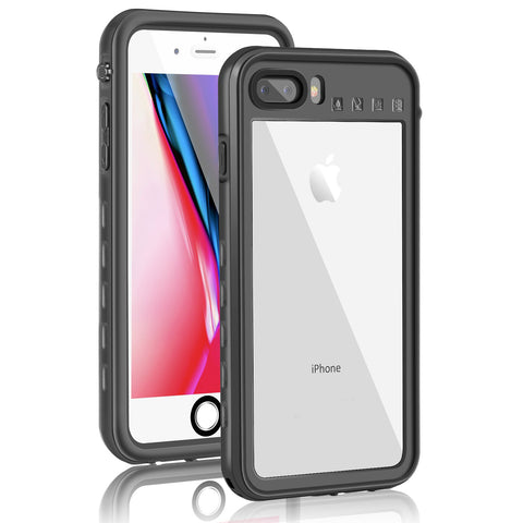 Waterproof Shellbox case for iPhone 7/8 Plus - Black