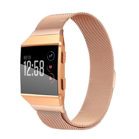 Milanese Strap for Fitbit Ionic - Rose Gold