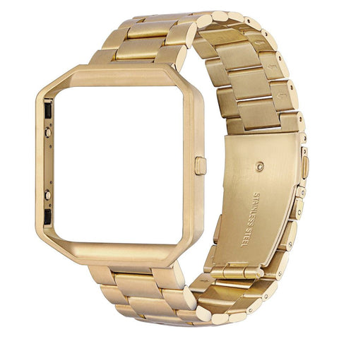 Stainless Steel Strap for Fitbit Blaze - Gold