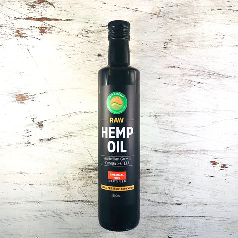 VITAHEMP - HEMP SEED OIL 500ml (GROWN IN TASMANIA, AUSTRALIA)