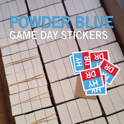 *POWDER BLUE* Game Stickers