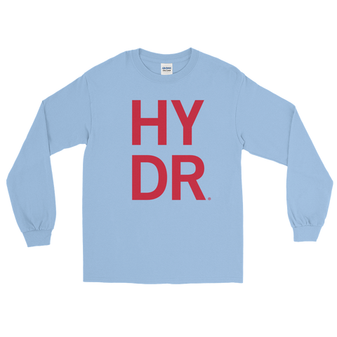 Powder Blue HYDR Long Sleeve T-Shirt