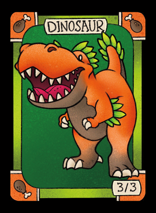 Dinosaur for MTG (LAN)