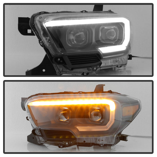 16-19 Projector Headlights w/Sequential Turn Signal