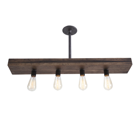 Fayette Triple Wood Light