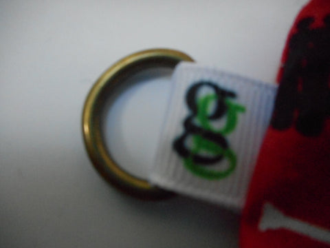"Add ""D"" ring (for coin, cosmetic purse or snack bag) to your ORDER ADDITION to per bag Purchase, by groovygurls.com - groovygurls"