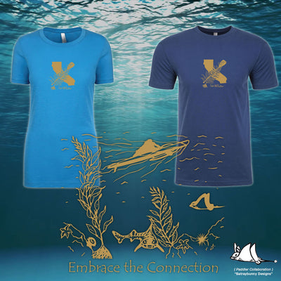 Embrace The Connection Paddler Shirts