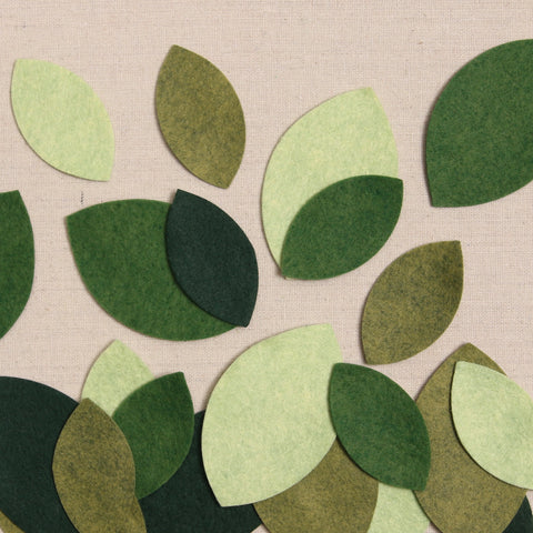 Die Cut, Magnolia Leaves