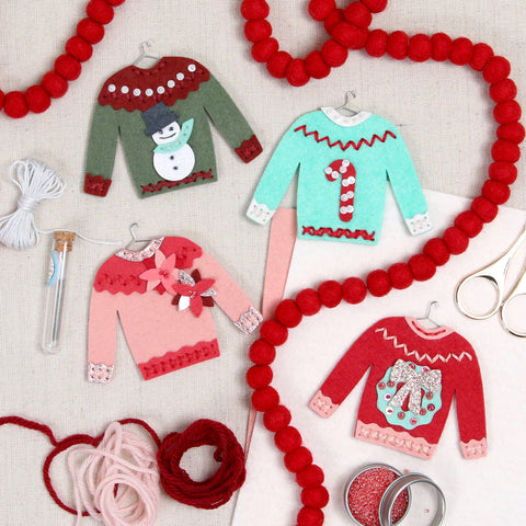 Stitched Ugly Sweater Die
