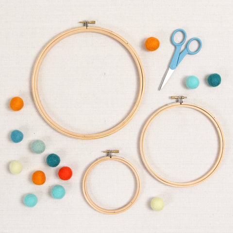 Wood Embroidery Hoops