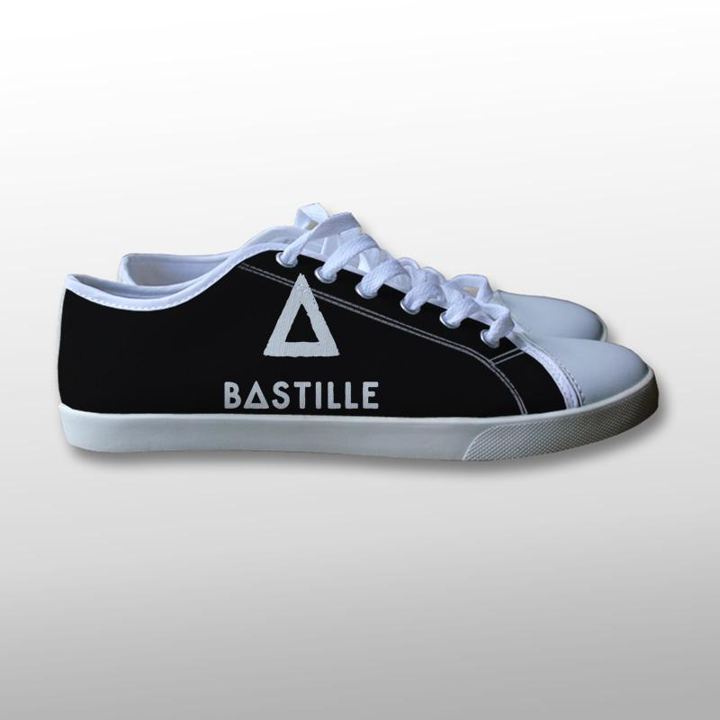 Bastille Logo Canvas Shoes