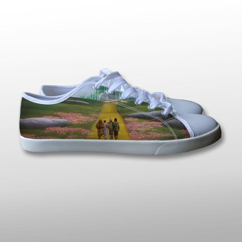 Wizard of Oz Canvas Shoes