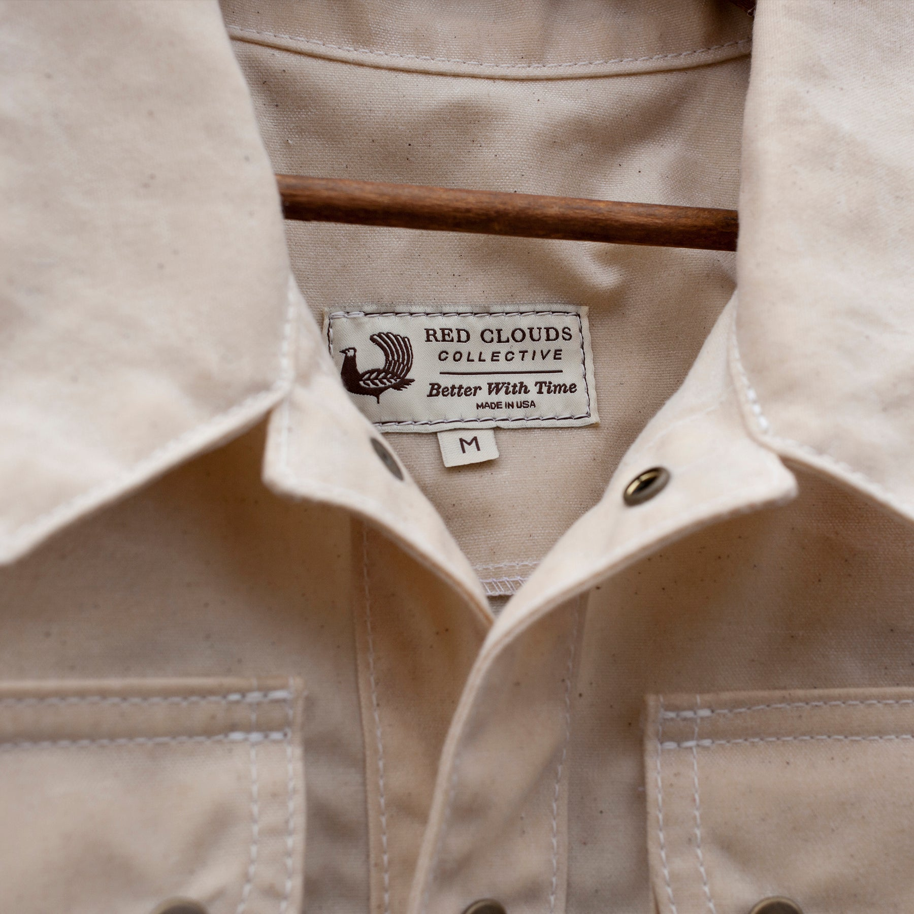 Great Northern Waxed Canvas Jacket - Natural