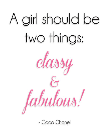 Classy and Fabulous 8x10 Print - by-Simply-Southern-Pretty-Please-on-Broad-Boutique