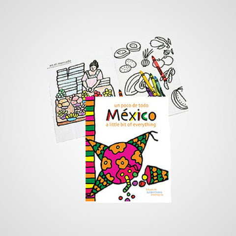 Coloring Book a Bit of Mexico