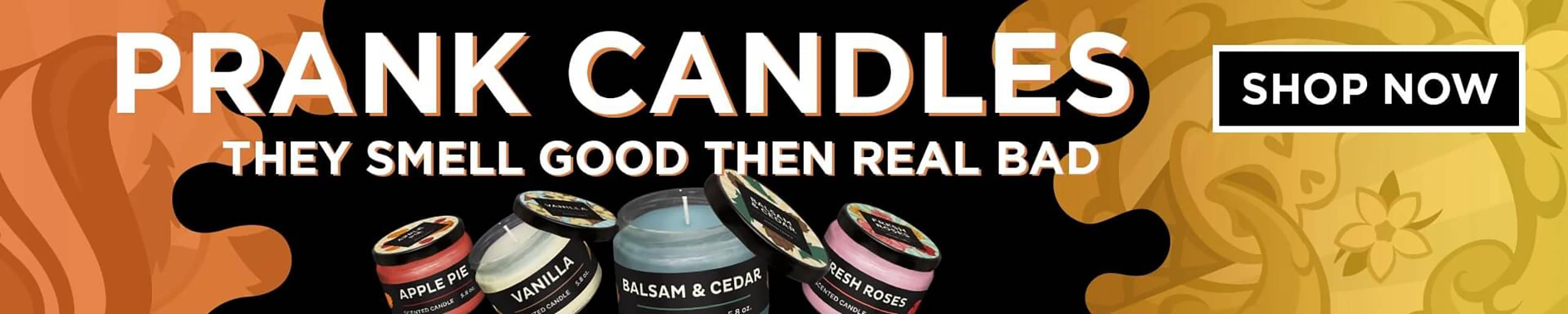 good to bad scented prank candles