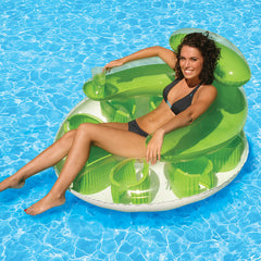 POOLMASTER WATER POP LOUNGE (1 LEFT ONLY - GREEN)