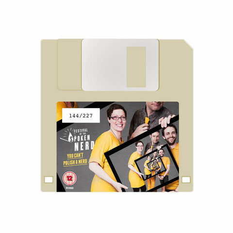 You Can't Polish A Nerd floppy disk + free download