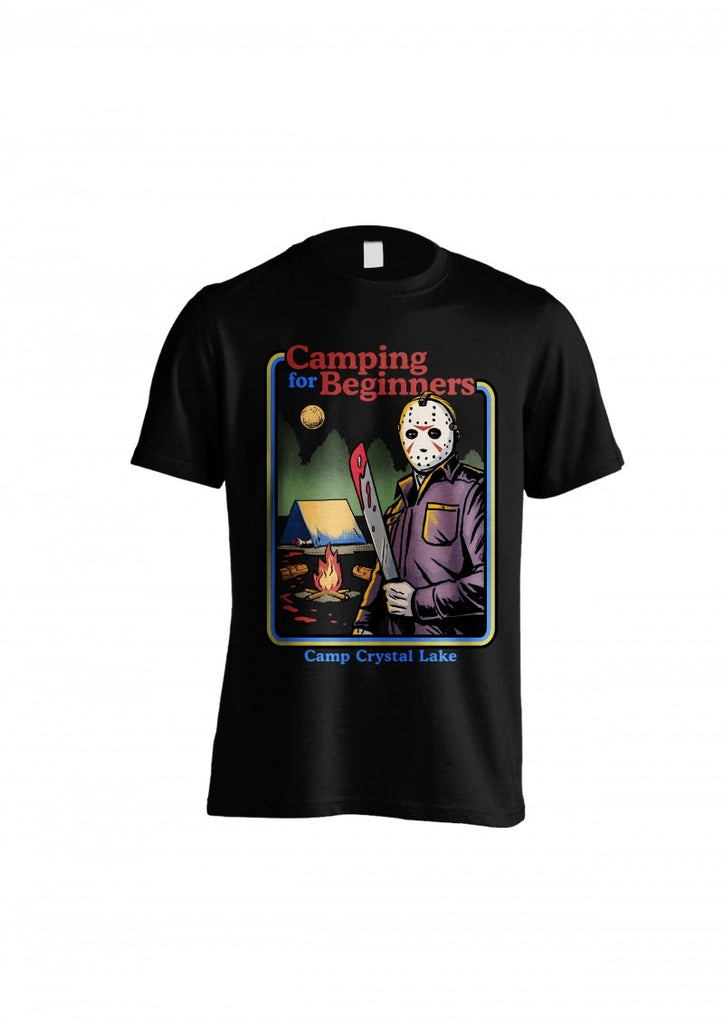 Friday 13th - Camping For Beginners T - T-Shirt