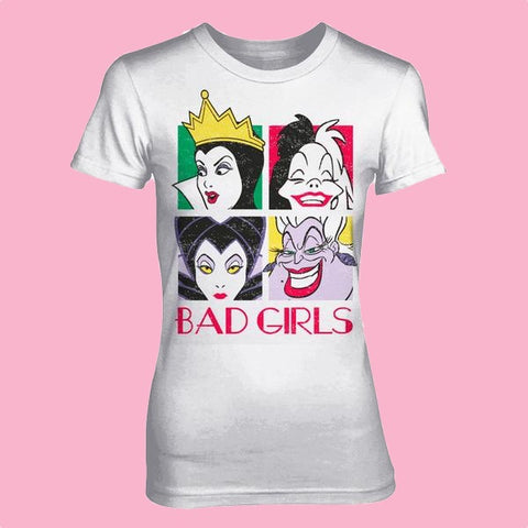 [W] Disney - Bad Girls - Ladies Fitted T-Shirt