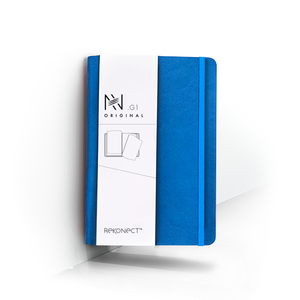 G1 - Blue Magnetic Notebook