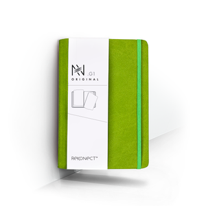 G1 - Green Magnetic Notebook