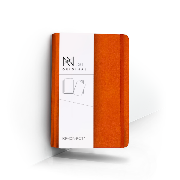 G1 - Orange Magnetic Notebook