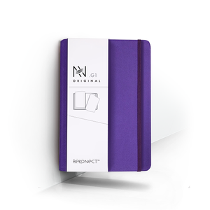 G1 - Purple Magnetic Notebook