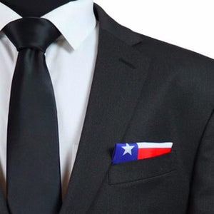 Texas Flag Pocket Square