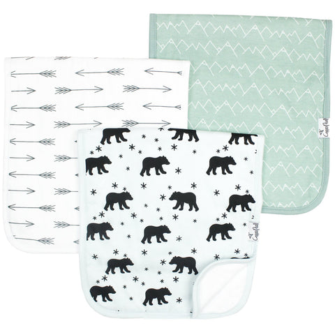 Burp Cloth Set, Archer -D