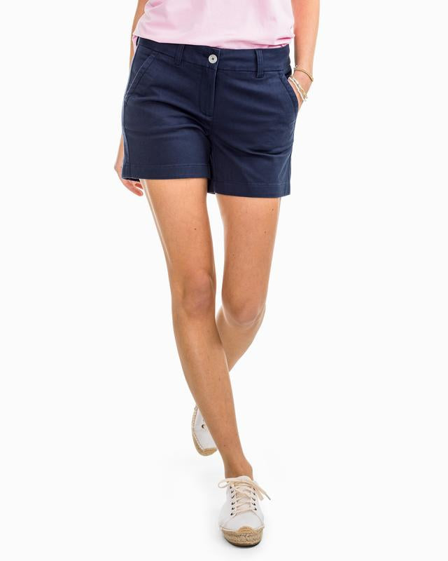 Caroline Short - Nautical Navy