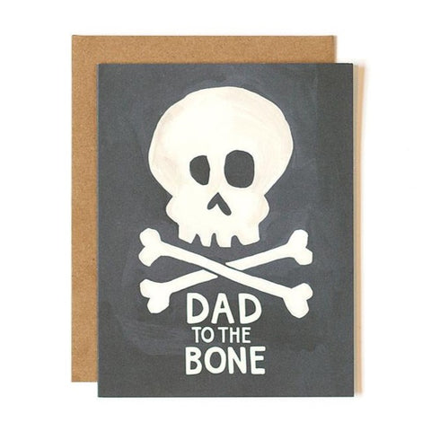 Dad to the Bone Father's Day Card ***