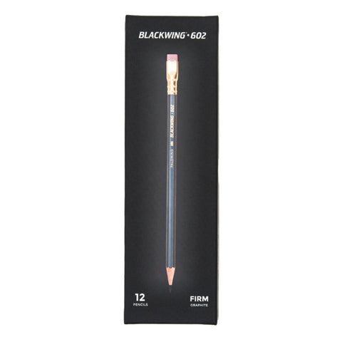 Blackwing Pencils 602 (Grey) 12-Pack - Firm