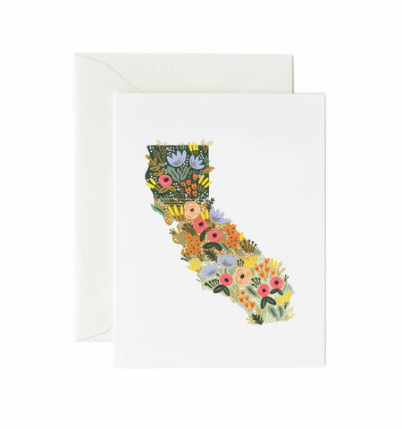 California Wildflowers Card ***