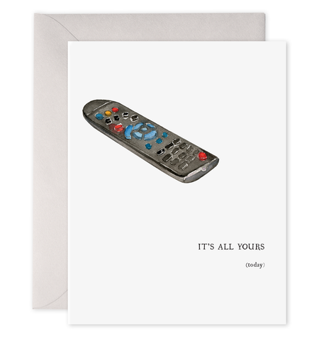 All Yours Remote Card
