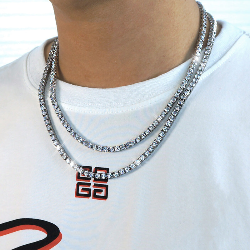 diamond tennis chains