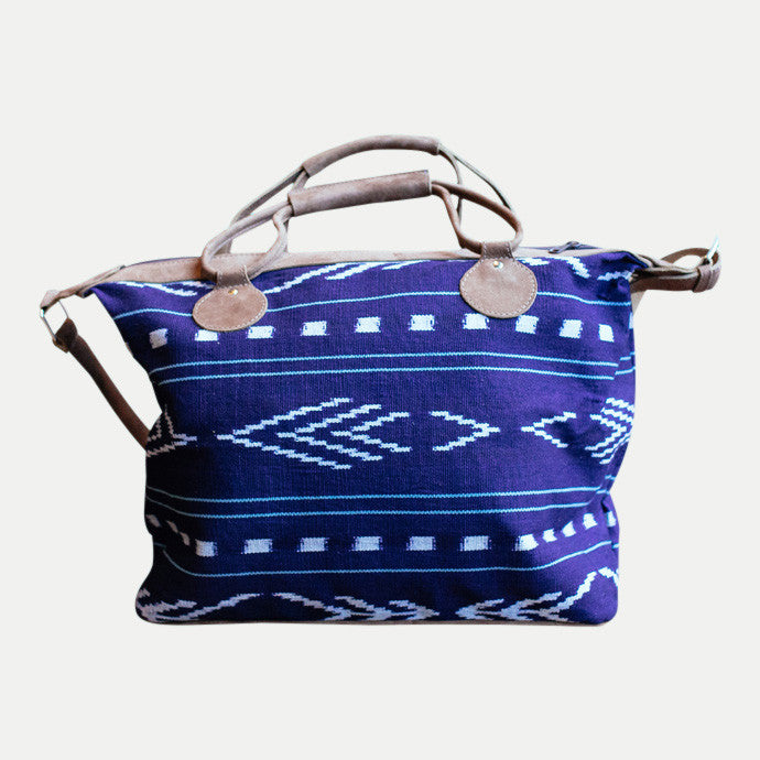 Weekender Bag: California Indigo