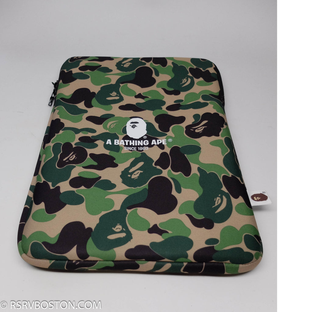 A Bathing Ape ABC Camo PC Case Green - RSRV - 1