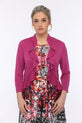 SLEEKTRENDS Womens Ruffled Bolero Jacket