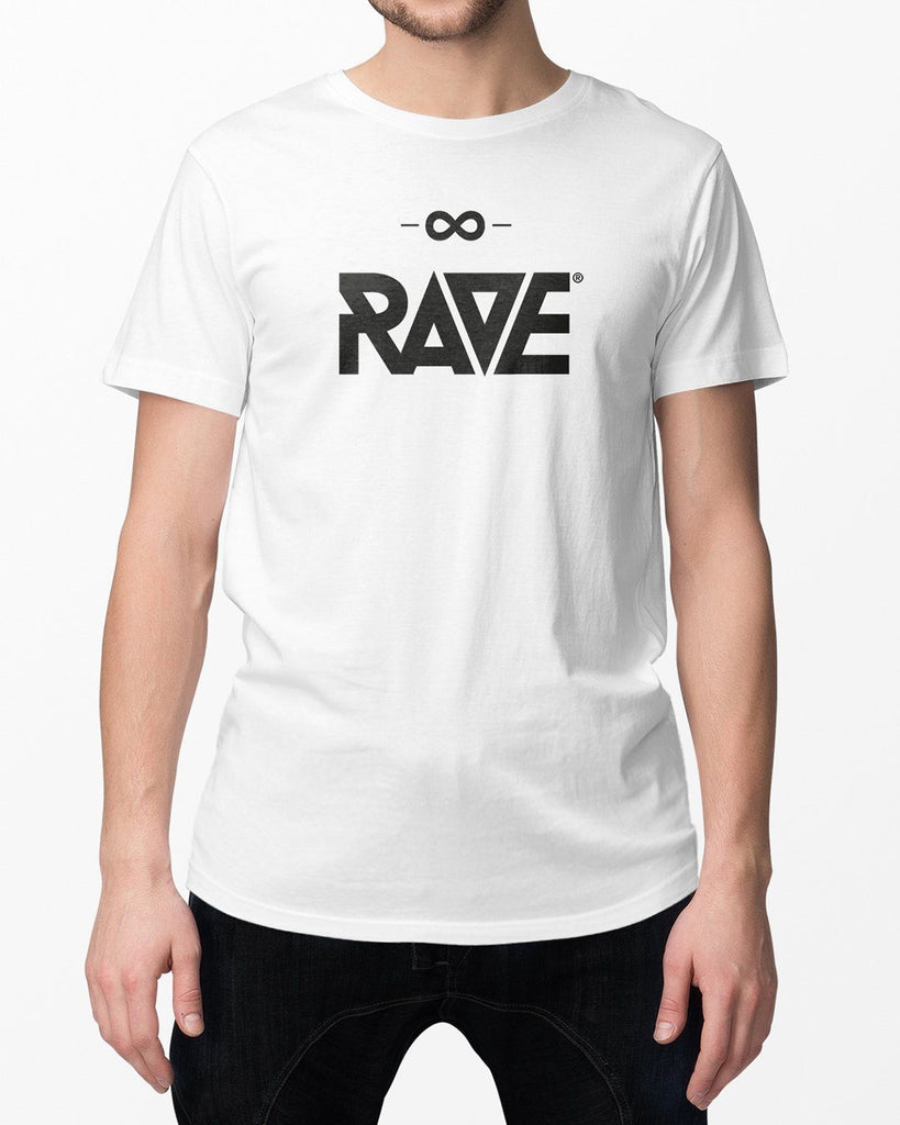 RAVE T-Shirt in weiß