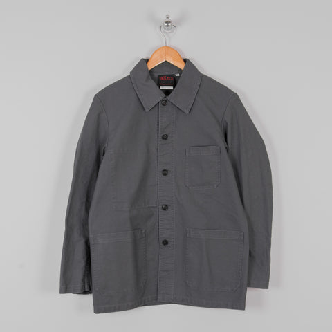Vetra Twill Workwear Jacket - Steel Grey 1