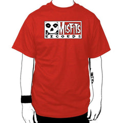 Misfits Records Single Logo T-shirt - Misfits Records - 1