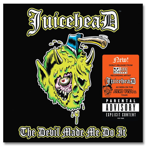 JuiceheaD: The Devil Made Me Do It CD - Misfits Records