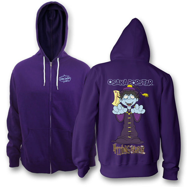 Hopping Ghosts Zip Up Hoodie