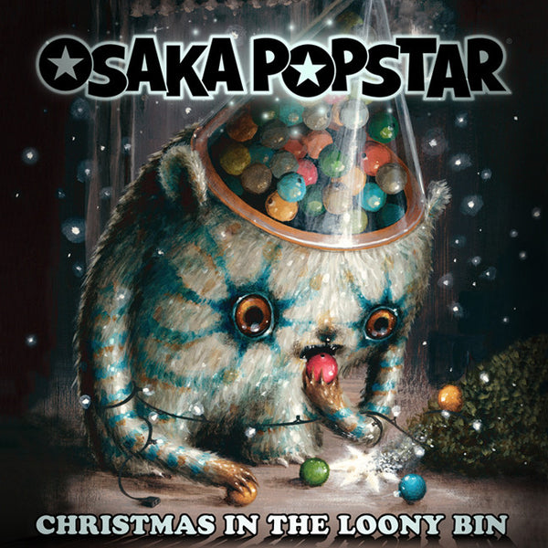 "OSAKA POPSTAR ""CHRISTMAS IN THE LOONY BIN"": DIGITAL SINGLE W/ SIGNED & #'D LTD ED HOLIDAY CARD"